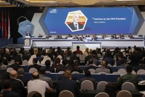 FIFA chief hails re-election of Asian football chief