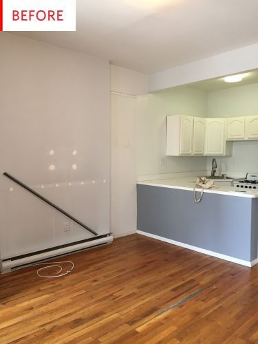 Before & After: The Easiest Upgrades Gave This Tiny Rental Kitchen a Whole New Look