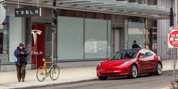 Elon Musk is comparing Tesla's 'mass market' Model 3 to a $66,000 BMW