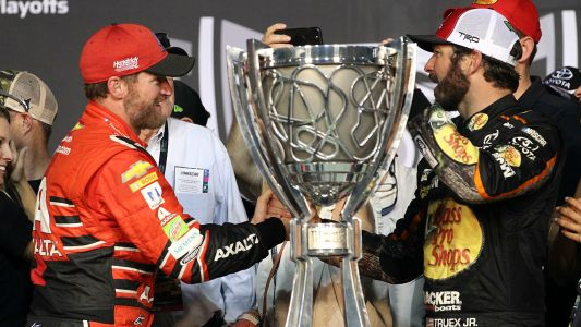 Martin Truex Jr. thanks Dale Earnhardt Jr.: 'I wouldn't be here today without him'