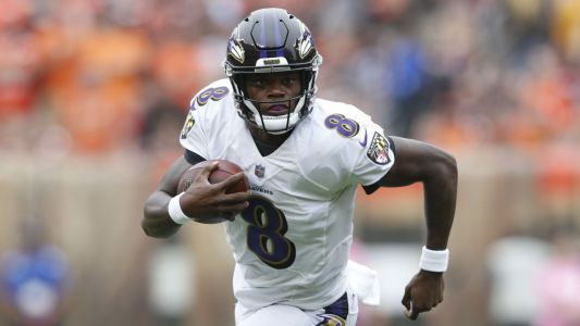 Ravens coach John Harbaugh says Lamar Jackson 'should be OK'