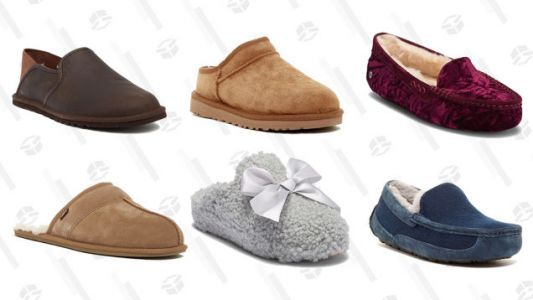 Your Feet Deserve Ugg Slippers, Now on Sale