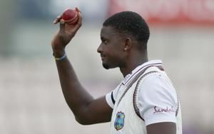 Holder takes 6-42 as West Indies dismiss England for 204