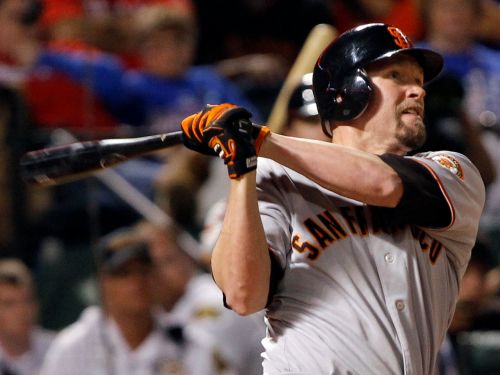 Ex-San Francisco Giant Aubrey Huff claims he's being punished for 'political support of Donald Trump' after being excluded from 2010 World Series reunion over 'unacceptable tweets'