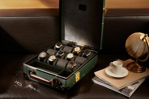 Globe-Trotter's 12-Slot Centenary Is the Watch Case Your Luxury Timepieces Deserve