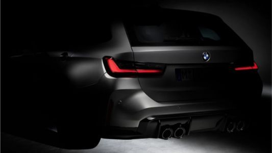 Even This Tiny Corner Of The New BMW M3 Wagon Looks Perfect