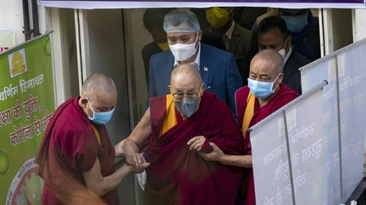 The Dalai Lama Gets A COVID-19 Shot, Urges Others To Get Vaccinated