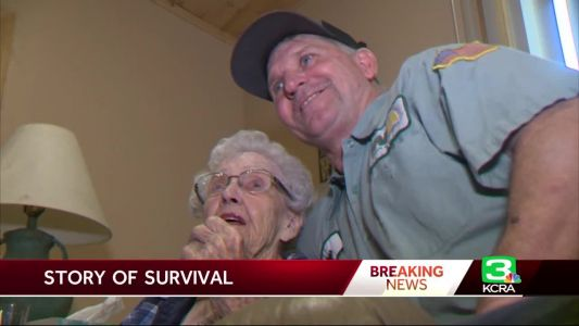 Garbageman picks up 93-year-old as Camp Fire spreads