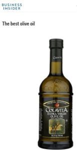 Business Insider names Colavita Extra Virgin Olive Oil the Best Olive Oil