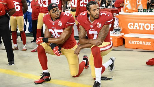NFL reportedly contemplating 15-yard penalty for kneeling during anthem