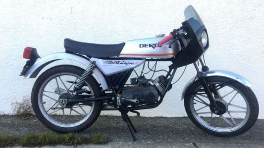 This Derbi Laguna Sport Will Ignite The Spirit Of Moped Within You