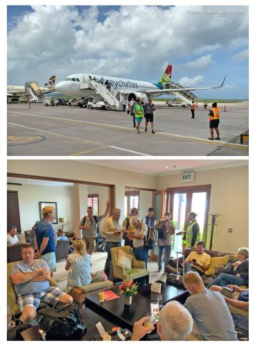 Seychelles National Airline flies golfers for the second leg of the MCB Championship Tour 2019