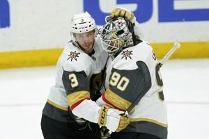Lehner gets shutout as Golden Knights blank Ducks 4-0