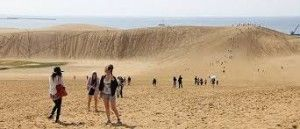 Tottori Sand Dunes witnesses tourism boost in Japan