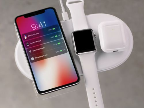 Apple's new wireless charger will charge the new iPhones, Apple Watch, and AirPods at the same time
