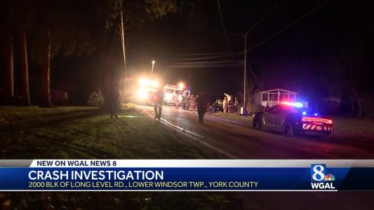 Helicopter called to scene of crash in York county