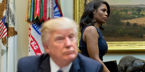 Omarosa says Trump's most 'egregious' tweets forced White House aides to scrap hours of work 'and we would have to go with his stuff'