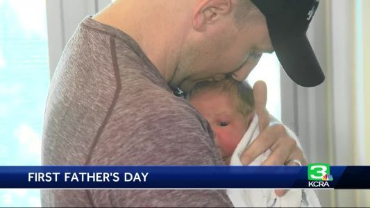 New dads celebrate Father's Day