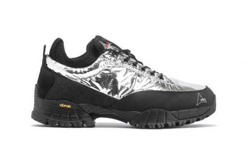 ROA Drops Metallic-Wrapped Hiking Sneakers