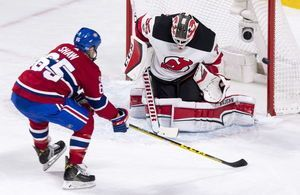 Plekanec, Canadiens top Devils 2-1 in OT to end 3-game slide