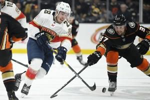 Saarela's first NHL goal helps Panthers top Ducks 4-1