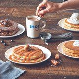 IHOP Just Launched Latte-Inspired Pancakes - Including Salted Caramel!