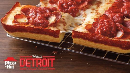 Pizza Hut Unveils New Handcrafted Detroit-Style Pizza Nationwide