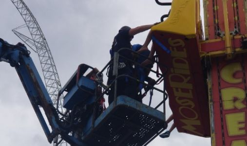 Officials: 7 rescued from Fun Spot America Orlando ride