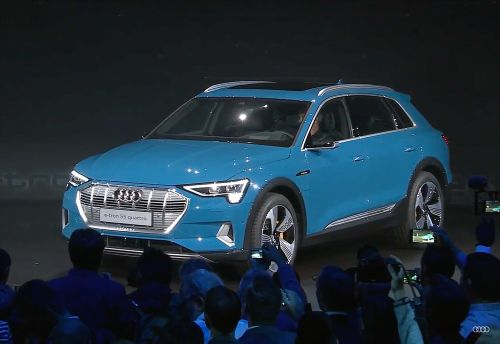 The Audi e-tron all-electric SUV is here, and it may have just eaten Tesla's lunch