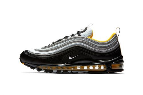 Nike's Air Max 97 Utilizes the Popular Black & Yellow Combo