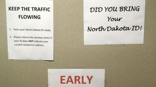 Many Native IDs Won't Be Accepted At North Dakota Polling Places