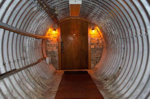 A couple converted a Kansas nuclear missile silo into a bizarre 18,000-square-foot castle, and now it's on the market for $3.2 million - see inside