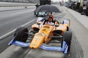 Kyle Kaiser knocks Alonso, McLaren out of Indy 500
