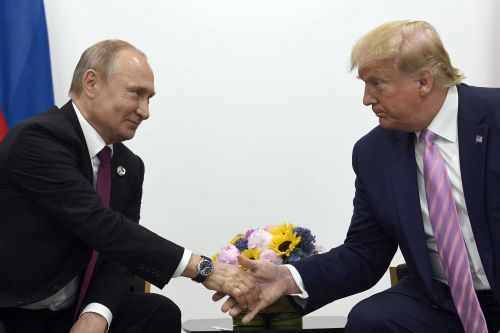 Intelligence officials say Russia is interfering to help President Trump get re-elected