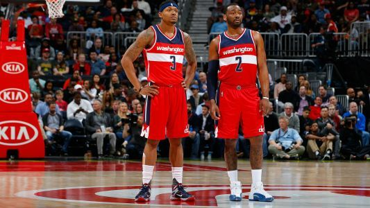 Wizards guards John Wall, Bradley Beal discuss trade rumors