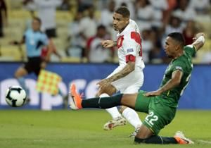 Guerrero leads Peru over Bolivia in key Copa America match