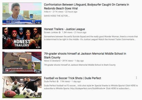 YouTube is promoting conspiracy theory videos that the far-right has used to claim one of the Florida school shooting survivors is a paid actor