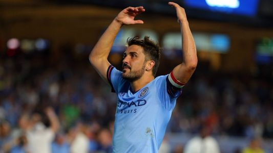 Former Barcelona striker Villa rules out end to MLS adventure and a return to Europe