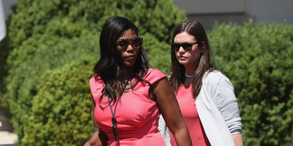 Sarah Huckabee Sanders says Omarosa's book is 'riddled with lies' and bashes the media for giving her 'a platform'