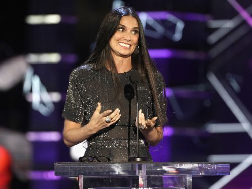 Demi Moore surprised ex-husband Bruce Willis during his Comedy Central roast and delivered the night's harshest burns