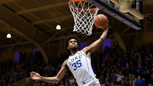 Duke's Bagley out against Virginia Tech