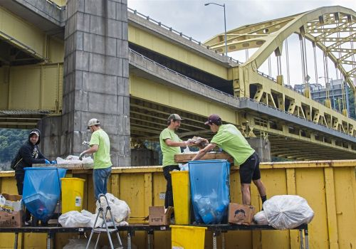 Don't dump that lemonade cup: Green Team knows in and outs of keeping Arts Fest eco-friendly