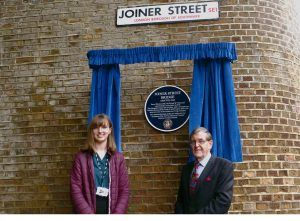 New Heritage Plaque Unveiled on Historic Joiner Street at London Bridge Station