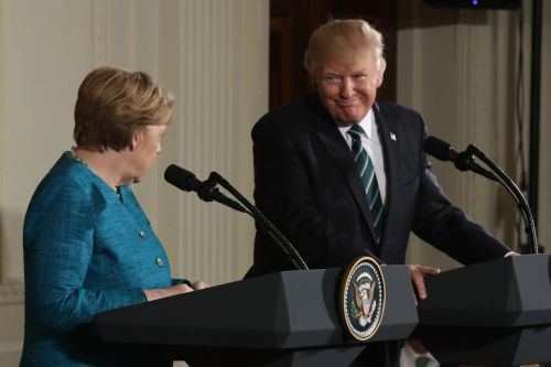 Trump slams a weakened Germany as 'controlled by Russia' in blistering open to NATO summit