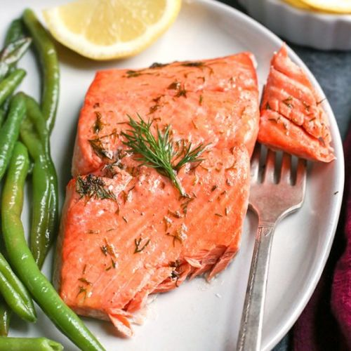 Paleo Whole30 Air Fryer Salmon