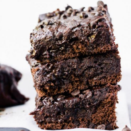Black Bean Protein Brownies