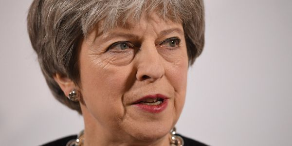 Theresa May rules out financial passporting after Brexit but wants 'a broader agreement than ever before'