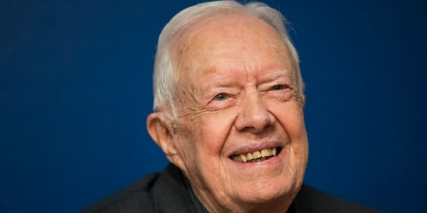 Jimmy Carter enters hospital for brain surgery to relieve pressure caused by recent falls