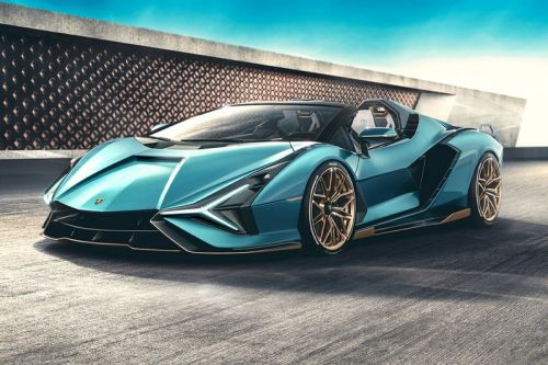 Lamborghini's Hybrid Sián Roadster Is the Brand's Most Powerful Convertible