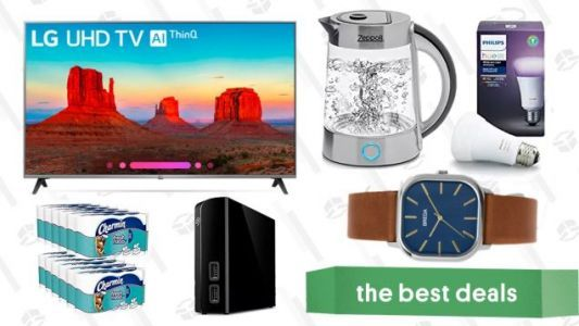 Saturday's Best Deals: 4K Smart TV, Philips Hue Bulbs, Breda Watches, and More